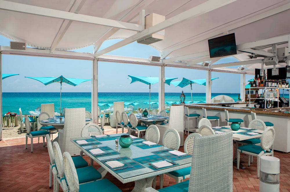 Bella Beach Dining at Trump International Beach Resort in Sunny Isles Beach, FL