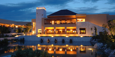 Exterior view of The Fairmont Mayakoba in Playa del Carmen, Mexico