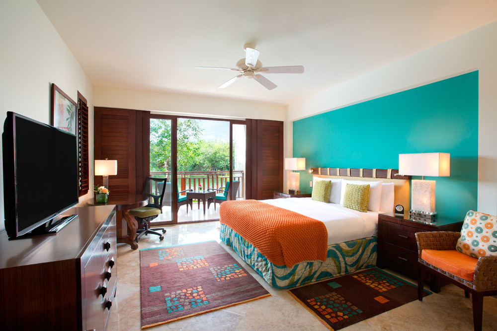 Guestroom at The Fairmont Mayakoba in Playa del CarmenMexico