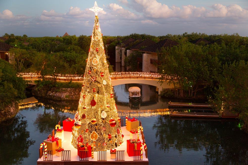 Christmas at The Fairmont Mayakoba in Playa del CarmenMexico