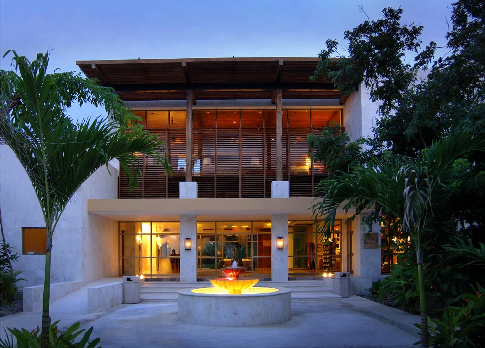 Entrance Reception at The Fairmont Mayakoba in Playa del CarmenMexico