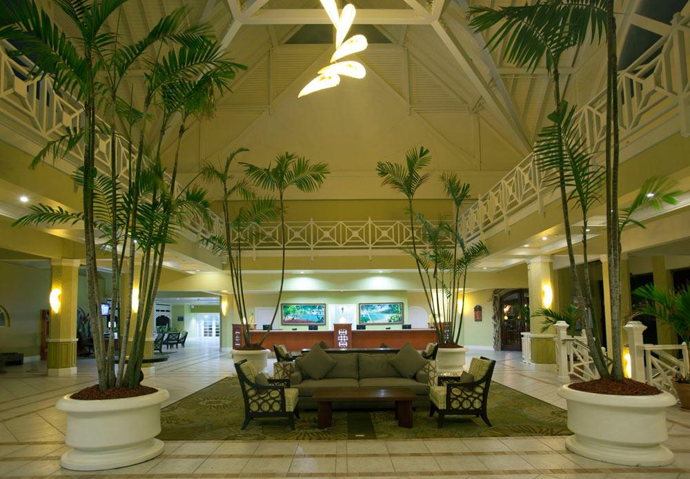 Lobby at The Magdalena Grand Beach Resort LowlandsTobago