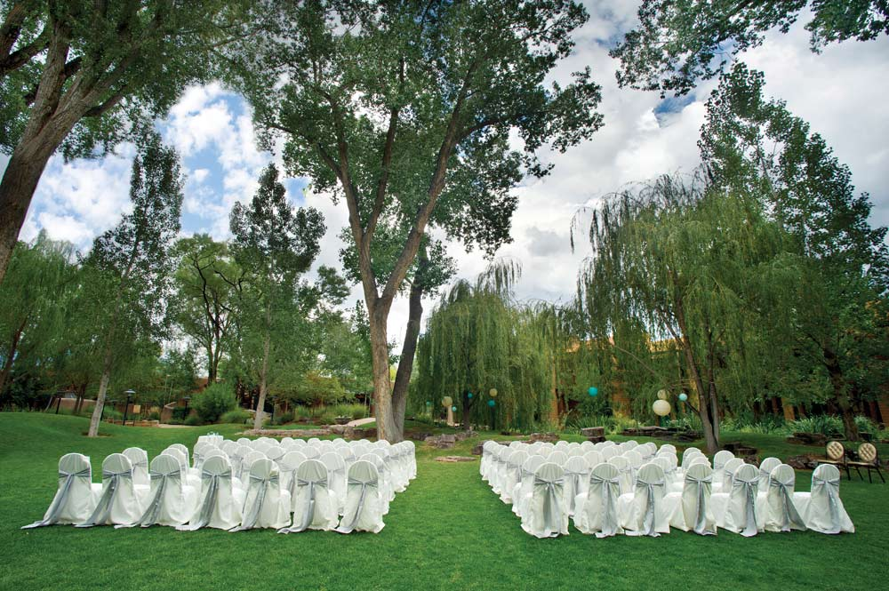 Weddings at El Monte Sagrado Living Resort and Spa, Taos, NM