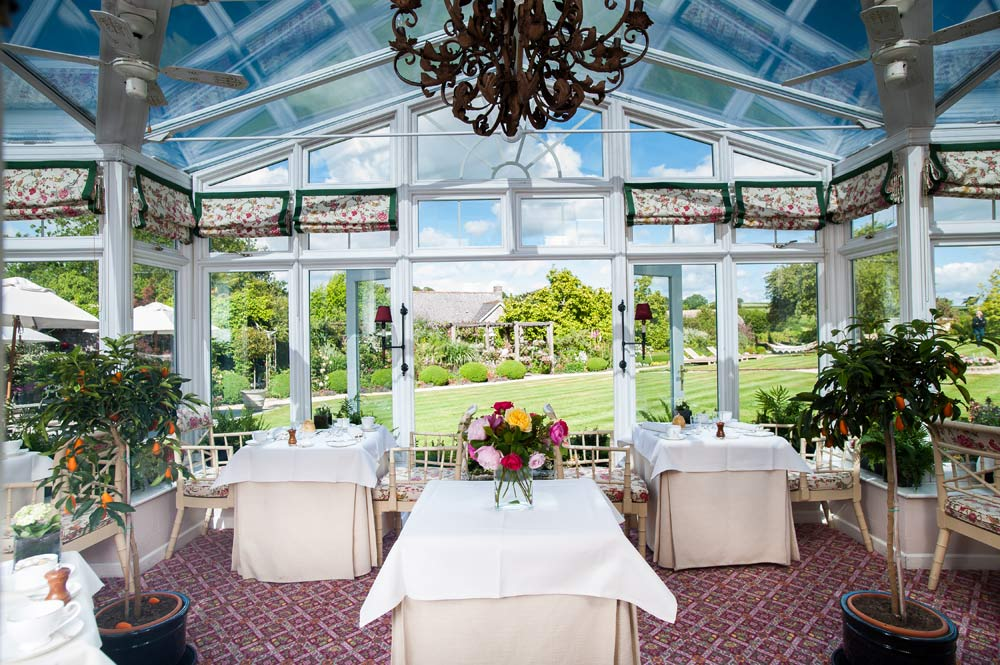 Conservatory at Summer Lodge Country House Hotel and SpaDorsetUnited Kingdom