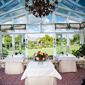 Conservatory at Summer Lodge Country House Hotel and Spa, Dorset, United Kingdom