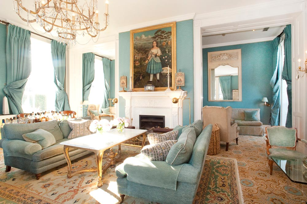 Drawing Room at Summer Lodge Country House Hotel and SpaDorsetUnited Kingdom