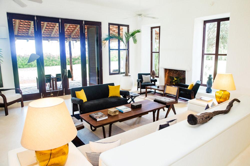 Lounge at Esencia, Playa del Carmen, Quinta Roo, Mexico