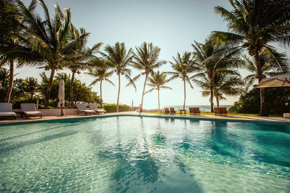 Outdoor Pool at Esencia, Playa del Carmen, Quinta Roo, Mexico