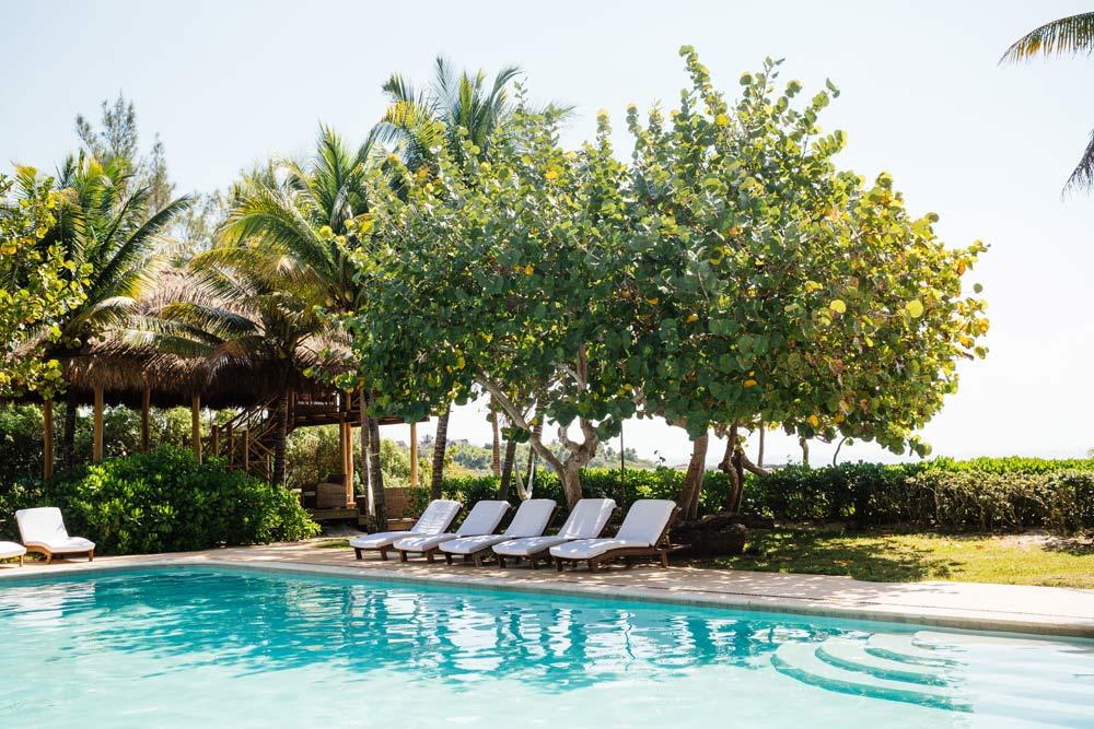 Pools at Esencia, Playa del Carmen, Quinta Roo, Mexico