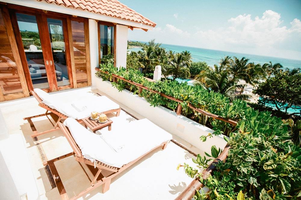 Master Suite Terrace at Esencia, Playa del Carmen, Quinta Roo, Mexico