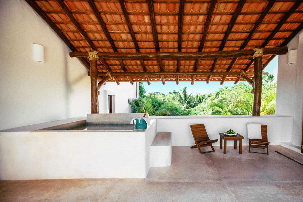 Master Suite at Esencia, Playa del Carmen, Quinta Roo, Mexico