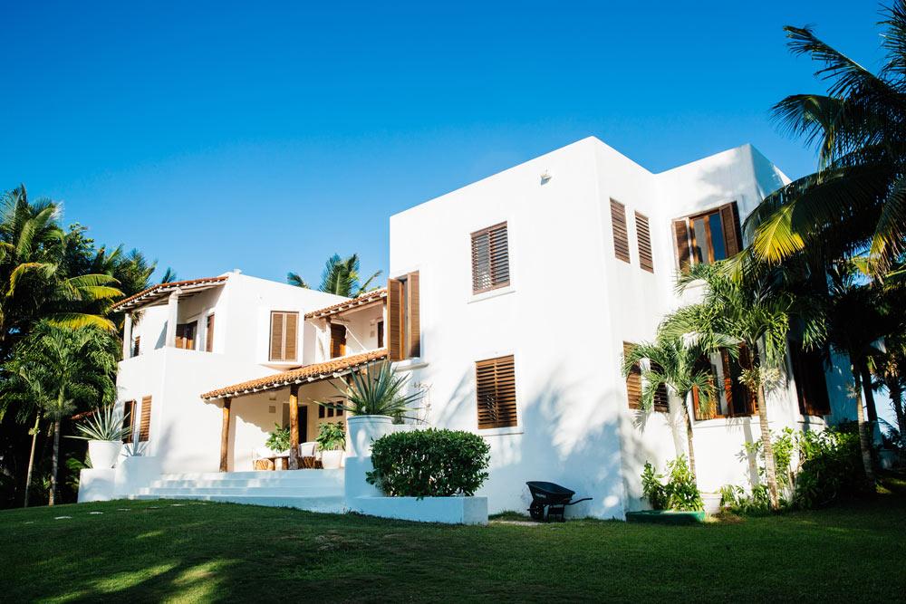 Private Villa Exteriors at Esencia, Playa del Carmen, Quinta Roo, Mexico