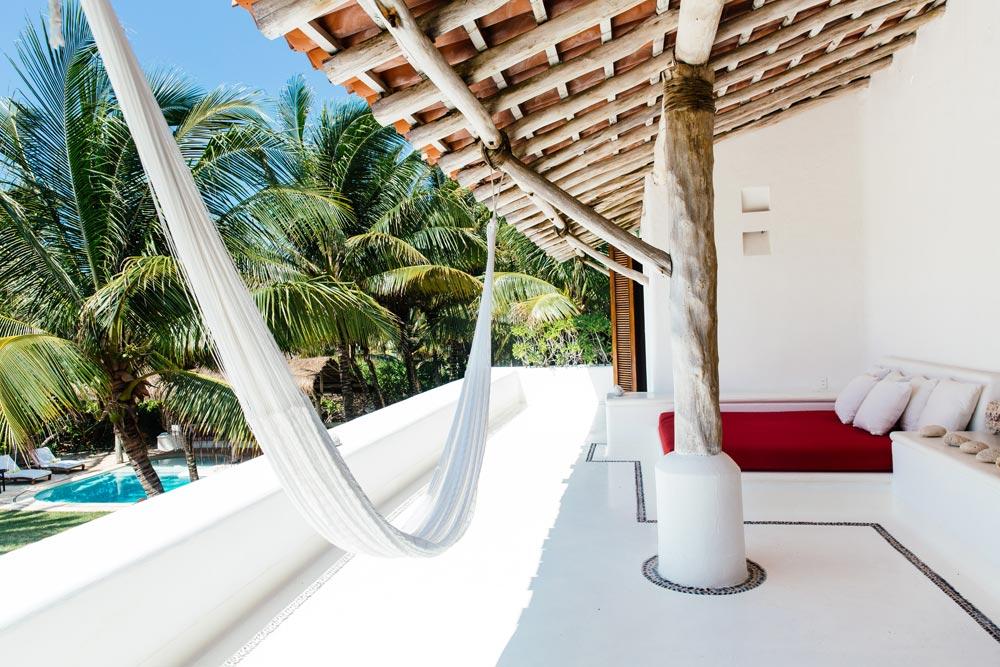 Private Villa Terrace at Esencia, Playa del Carmen, Quinta Roo, Mexico