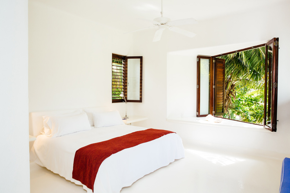 Private Villa Guest Room at Esencia, Playa del Carmen, Quinta Roo, Mexico
