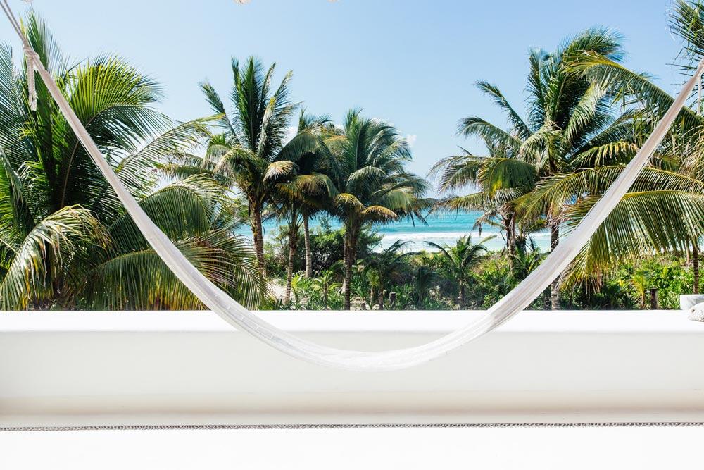 View From Private Villa at Esencia, Playa del Carmen, Quinta Roo, Mexico