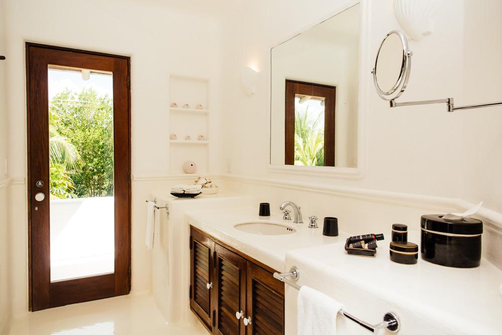 Private Villa Bath at Esencia, Playa del Carmen, Quinta Roo, Mexico