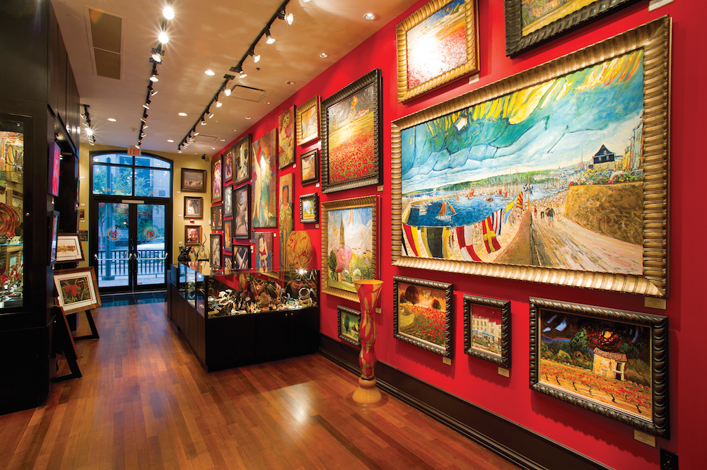 Grand Bohemian Art Gallery at the Grand Bohemian Hotel Orlando.