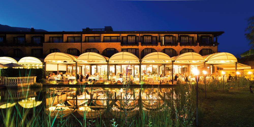 Outdoor Dining at Giardino AsconaSwitzerland