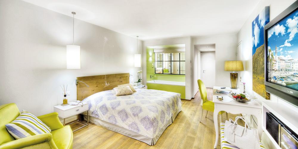 Double Guest Room at Giardino AsconaSwitzerland