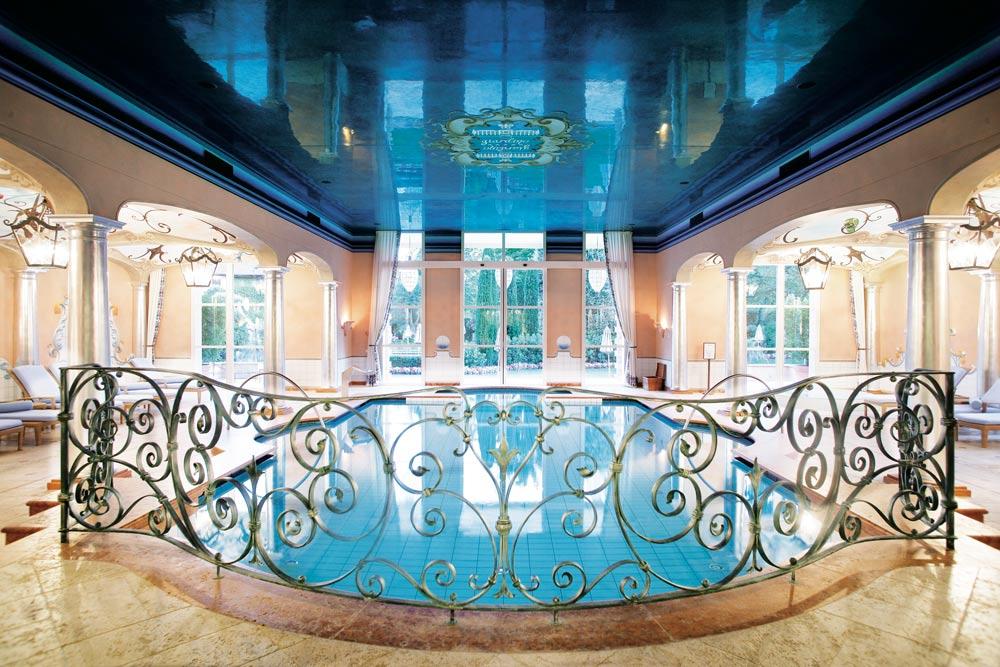 Indoor Pool at Giardino AsconaSwitzerland