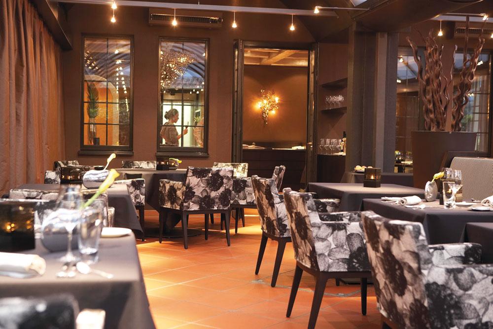 Ecco Restaurant at Giardino AsconaSwitzerland