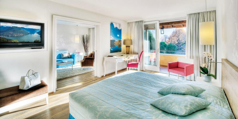 Double Suite at Giardino AsconaSwitzerland