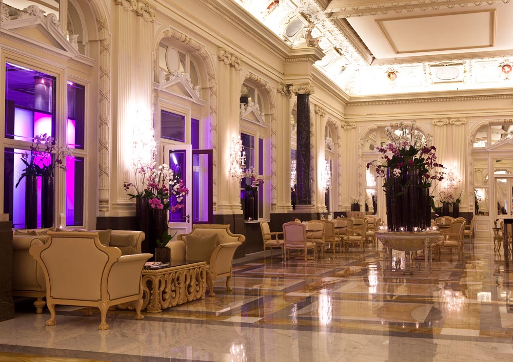 Lobby and Lounge at Boscolo PragueCzech Republic