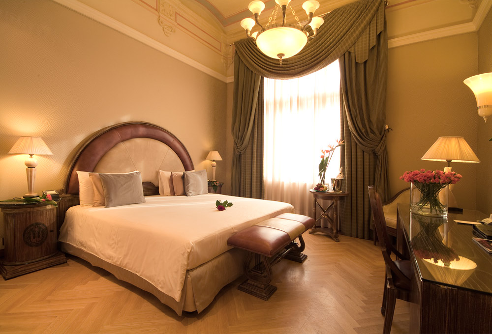 Guestroom at Boscolo Prague, Czech Republic