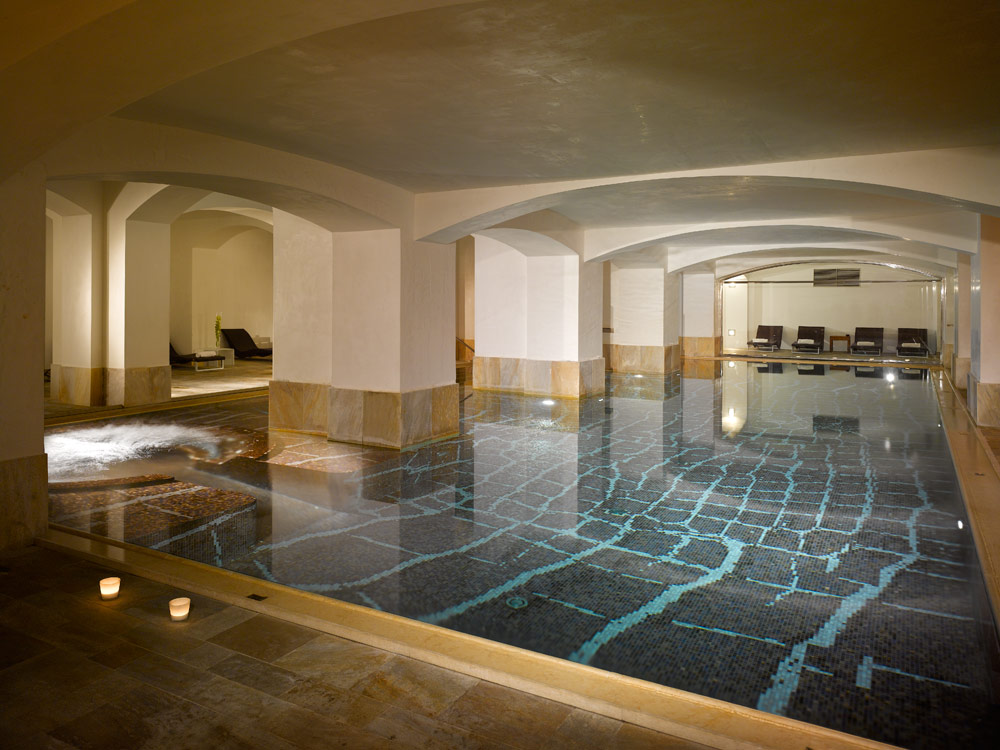 Indoor Pool at Boscolo Prague, Czech Republic