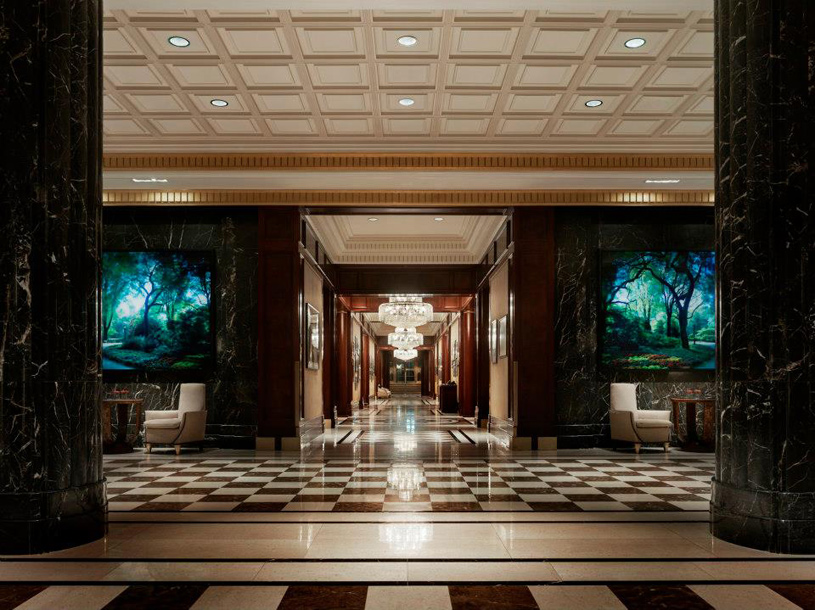 JW Marriott Essex House New York Lobby