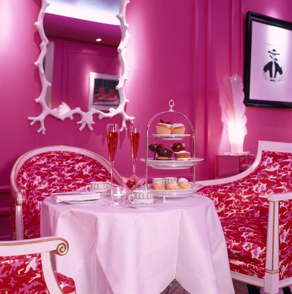 Pink Afternoon Tea at The g Hotel Galway
