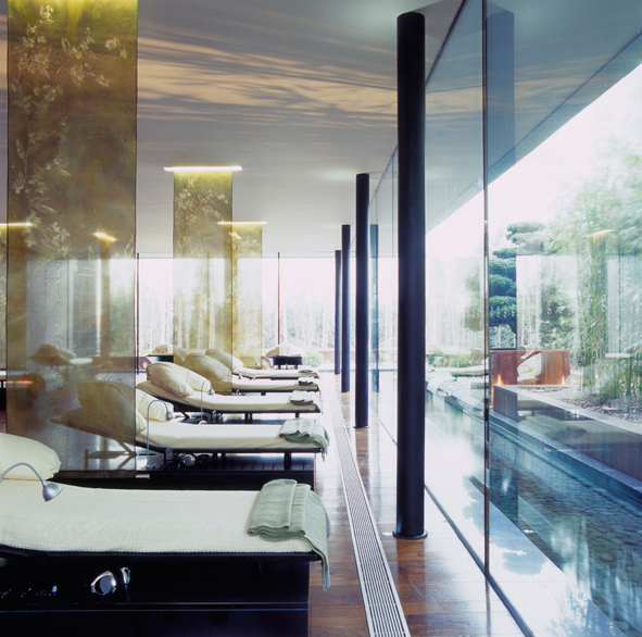 Relaxation Spa Room at The g Hotel Galway