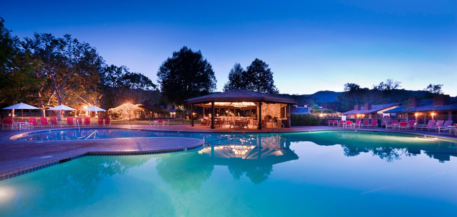 Pool at Alisal Guest Ranch and Resort SolvangCA