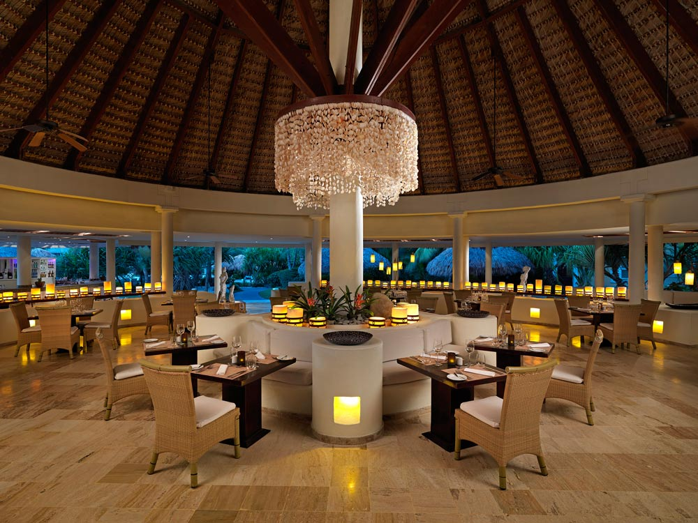 Fuego Restaurant onsite at Paradisus Palma Real All InclusivePunta Cana
