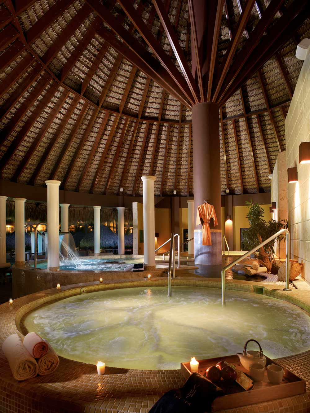 Pool Water Ritual Spa at Paradisus Palma Real All InclusivePunta Cana