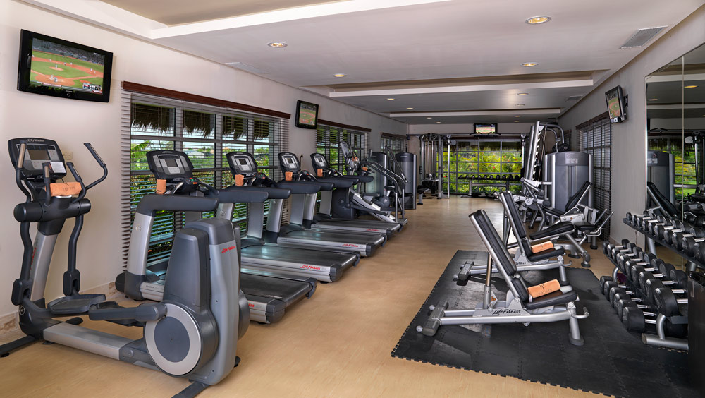 Fitness Center at Paradisus Palma Real All InclusivePunta Cana