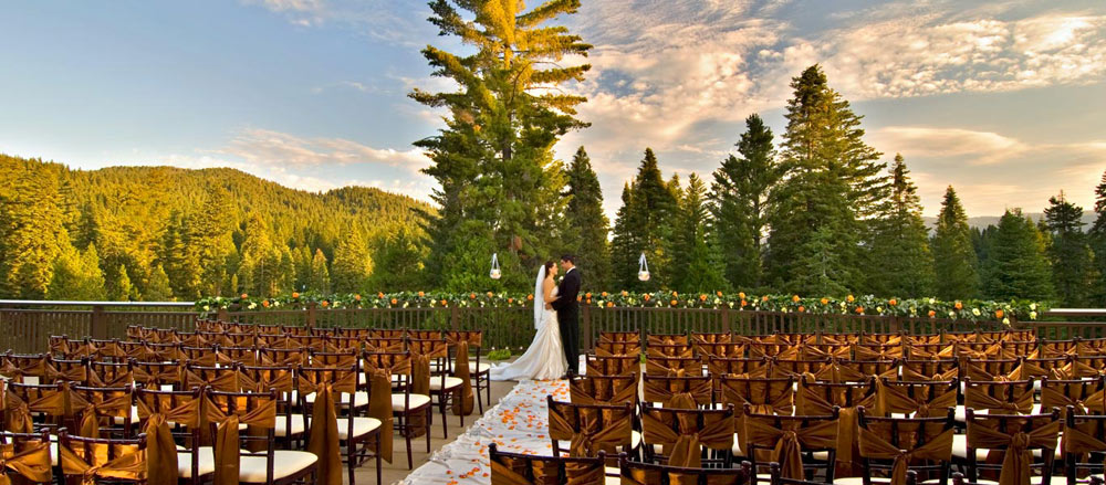 Wedding Venue at Tenaya Lodge at YosemiteFish CampCA