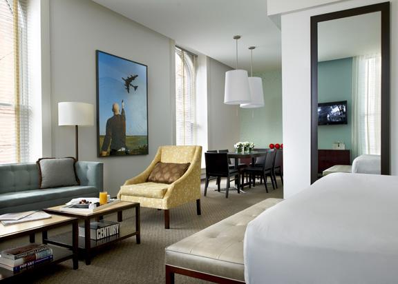21C Museum Hotel Louisville Room