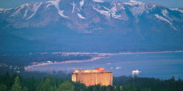 Exterior View of Harrahs Lake Tahoe Hotel and Casino