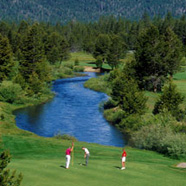 Golfing at Harrahs in Lake Tahoe