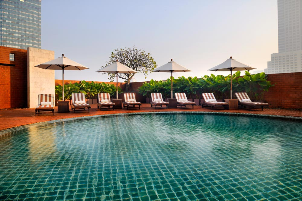 Outdoor Pool at Tower Club at LebuaThailand