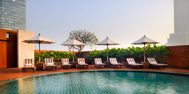 Outdoor Pool at Tower Club at Lebua, Thailand