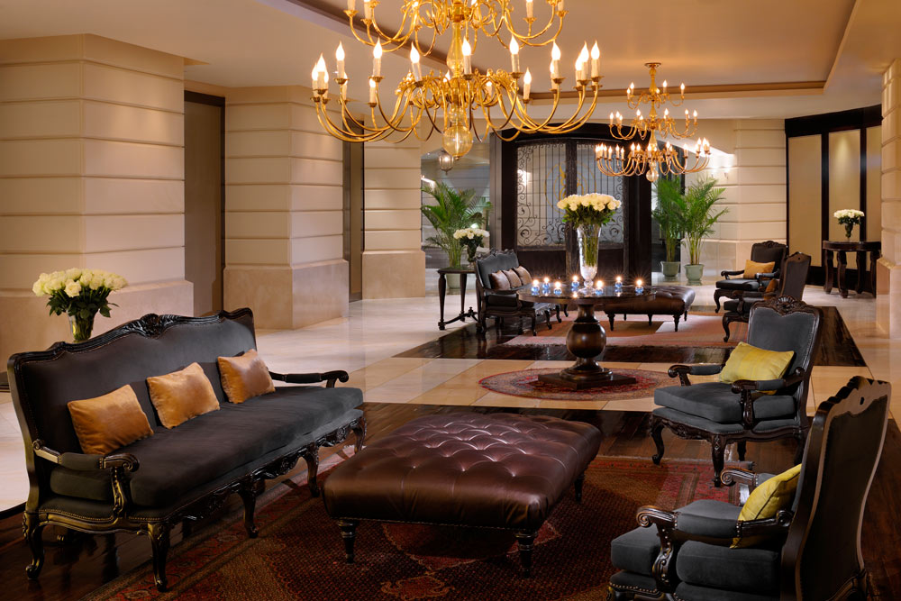 Lobby and Lounge at Tower Club at Lebua, Thailand