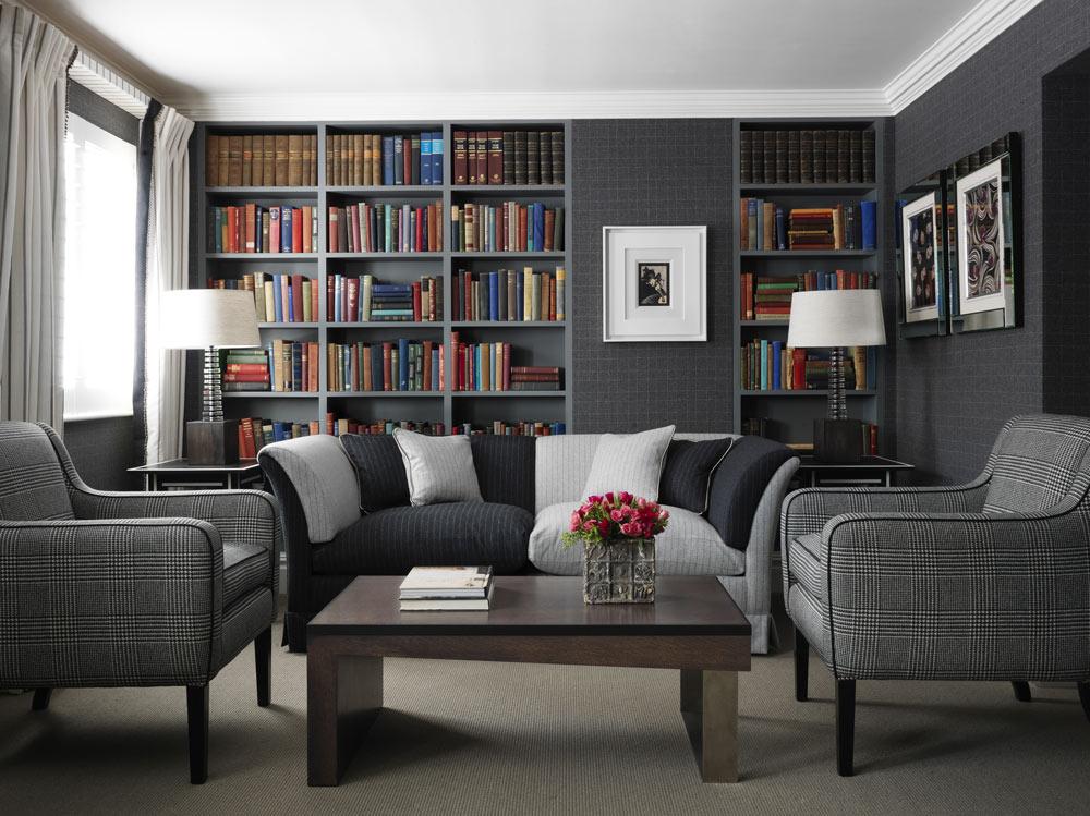 Marylebone Suite Lounge at Dorset Square HotelLondonUnited Kingdom