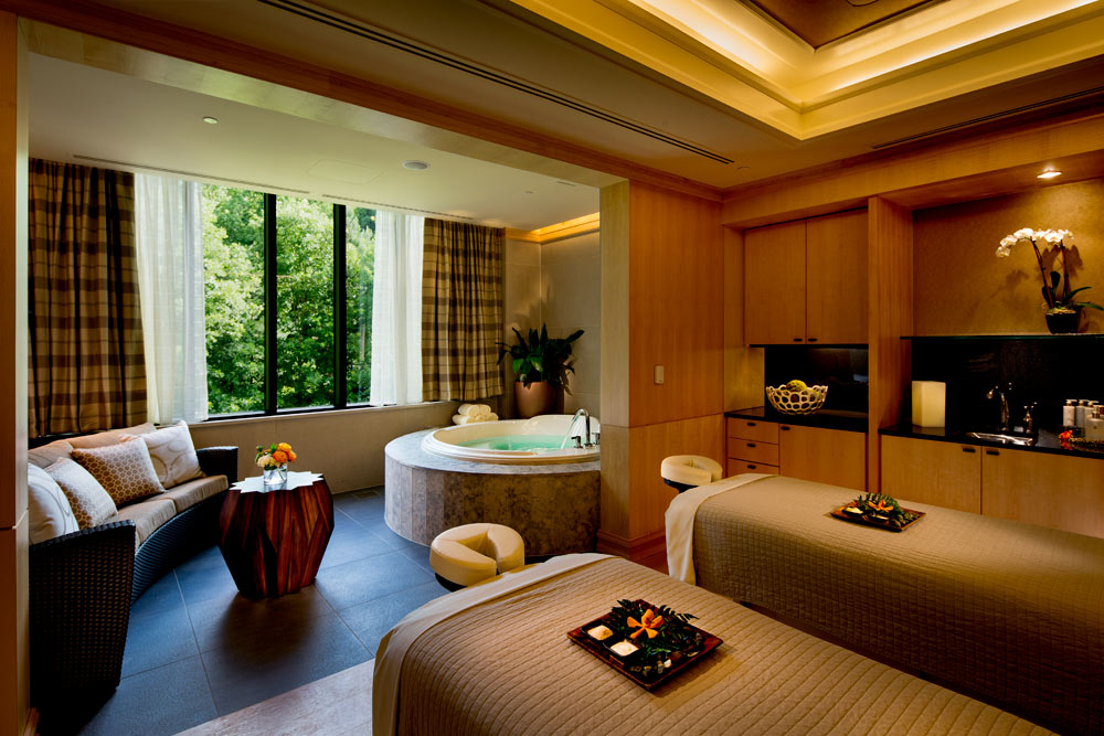 Couples Treatment Room at The Umstead Hotel and SpaCaryNC