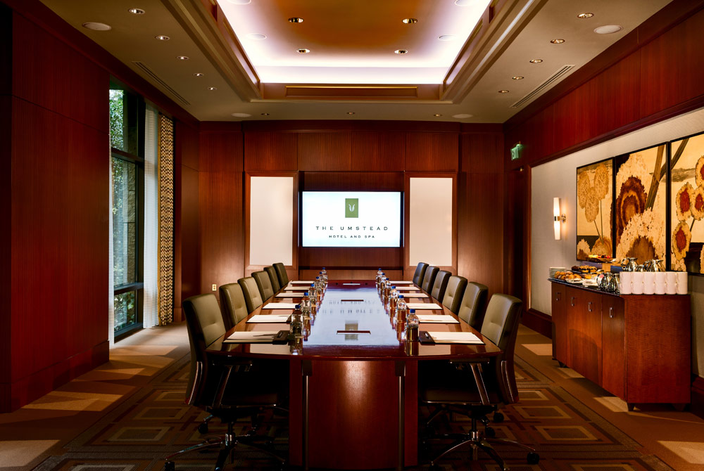 Boardroom at The Umstead Hotel and SpaCaryNC