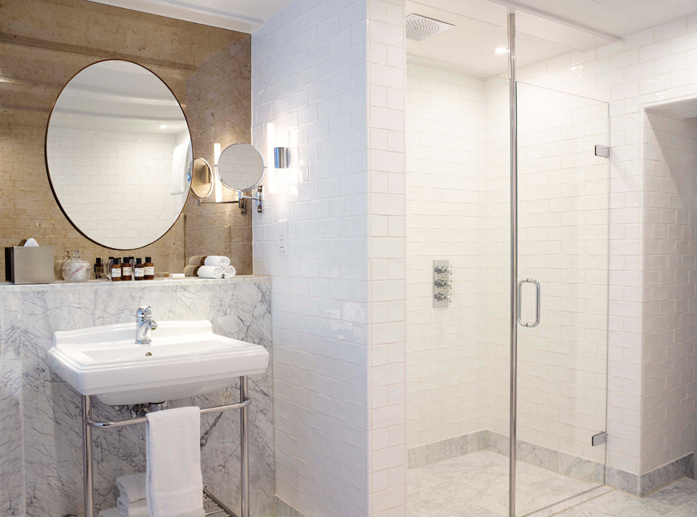 Guest Bath at Hotel Pulitzer, Amsterdam, North-Holland, Netherlands