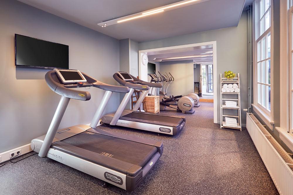 Fitness Center at Hotel Pulitzer, Amsterdam, North-Holland, Netherlands