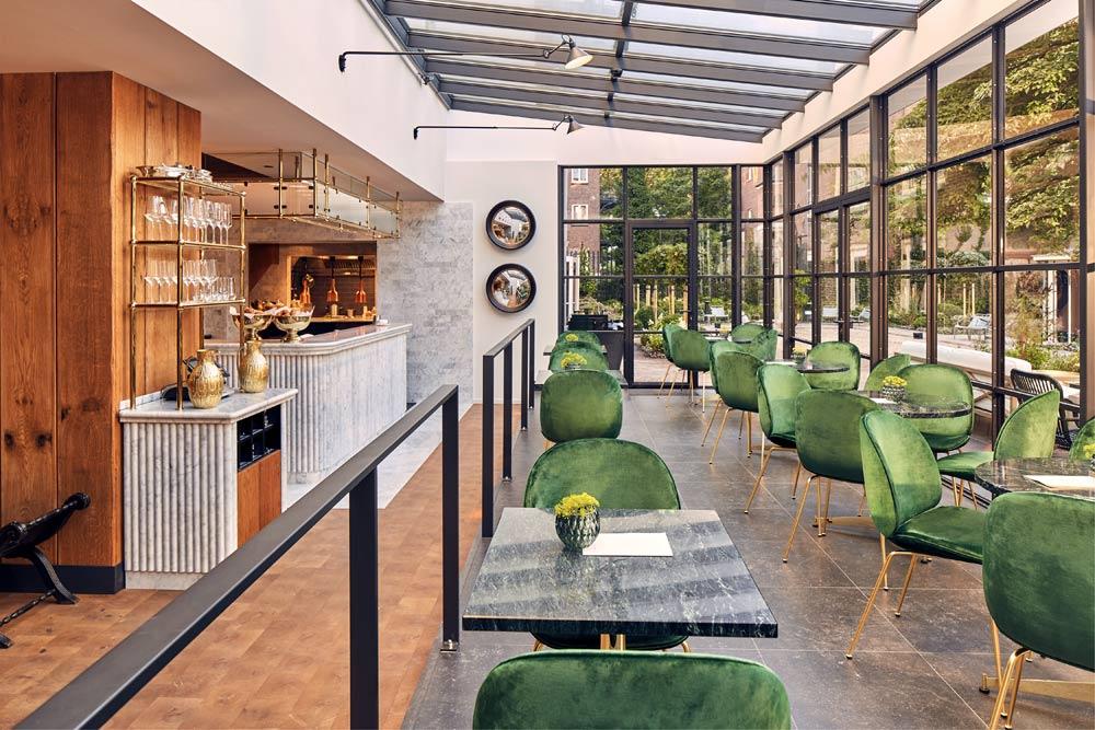 Dine at Hotel Pulitzer, Amsterdam, North-Holland, Netherlands