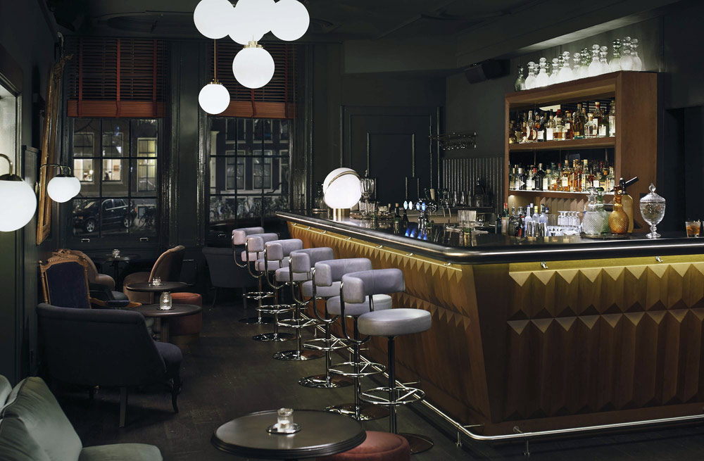 Bar and Lounge at Hotel Pulitzer, Amsterdam, North-Holland, Netherlands